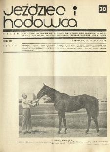 Jeździec i Hodowca, R. 14 (1935), Nry 20-27