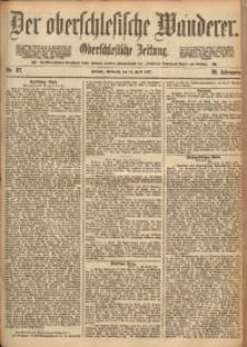 Der Oberschlesische Wanderer, 1897, Jg. 70, Nr. 87