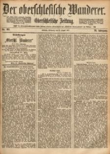 Der Oberschlesische Wanderer, 1897, Jg. 70, Nr. 195
