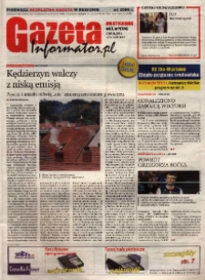 Gazeta Informator.pl : Kędzierzyn-Koźle, Racibórz, Kuźnia Raciborska [...]. R. 10, nr 9 (186).