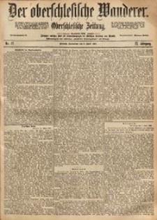 Der Oberschlesische Wanderer, 1898, Jg. 71, Nr. 77