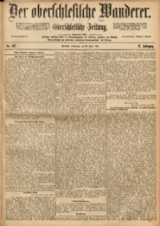 Der Oberschlesische Wanderer, 1898, Jg. 71, Nr. 147
