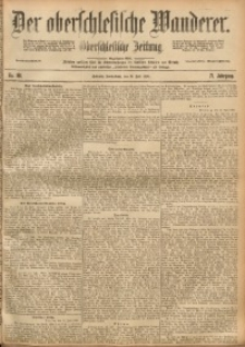 Der Oberschlesische Wanderer, 1898, Jg. 71, Nr. 161