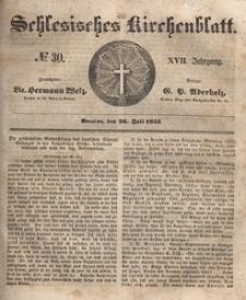 Schlesisches Kirchenblatt, 1851, Jg. 17, nr 30