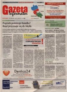 Gazeta Informator : pierwsza bezpłatna gazeta regionalna : Wodzisław Śląski. R. 11, nr 4 (205).