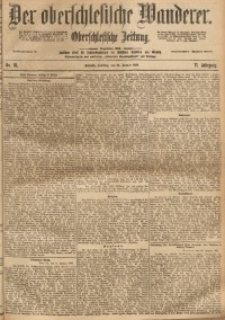Der Oberschlesische Wanderer, 1899, Jg. 71, No. 18