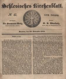 Schlesisches Kirchenblatt, 1851, Jg. 17, nr 47