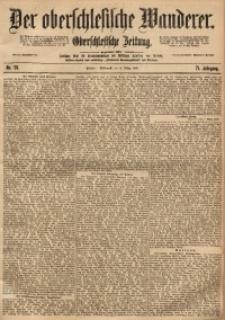 Der Oberschlesische Wanderer, 1899, Jg. 71, No. 56