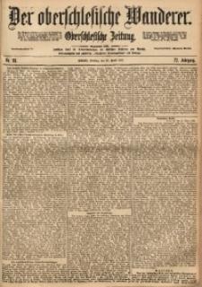 Der Oberschlesische Wanderer, 1899, Jg. 72, No. 98