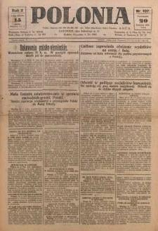 Polonia, 1925, R. 2, nr 107