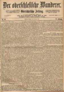 Der Oberschlesische Wanderer, 1899, Jg. 72, No. 137