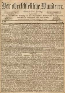 Der Oberschlesische Wanderer, 1899, Jg. 72, No. 189