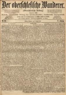 Der Oberschlesische Wanderer, 1899, Jg. 72, No. 194