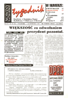Nowiny Raciborskie. R. 2, nr 16 (64).