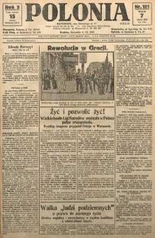 Polonia, 1925, R. 2, nr 181