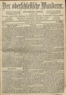 Der Oberschlesische Wanderer, 1902, Jg. 74, No. 4