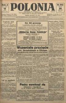 Polonia, 1925, R. 2, nr 202