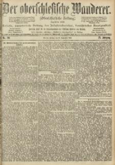 Der Oberschlesische Wanderer, 1902, Jg. 75, No. 218