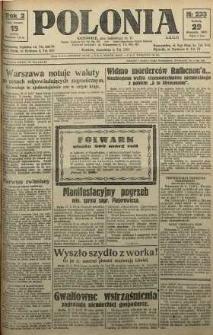 Polonia, 1925, R. 2, nr 233