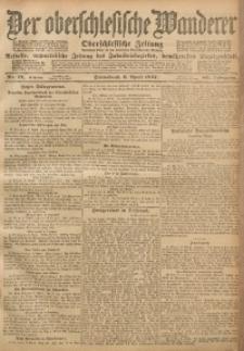 Der Oberschlesische Wanderer, 1907, Jg. 80, Nr. 78