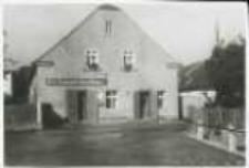 Braciszów. Restauracja R. Schmidta oraz poczta przed 1945 r.