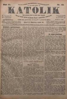 Katolik, 1911, R. 44, nr 13