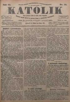 Katolik, 1911, R. 44, nr 15