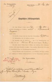 Projekt techniczny Wieży Bismarcka - pozwolenie na budowę