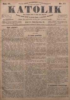 Katolik, 1911, R. 44, nr 25