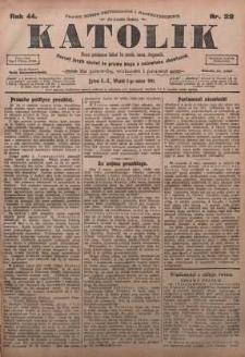 Katolik, 1911, R. 44, nr 28
