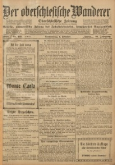 Der Oberschlesische Wanderer, 1908, Jg. 81, Nr. 227