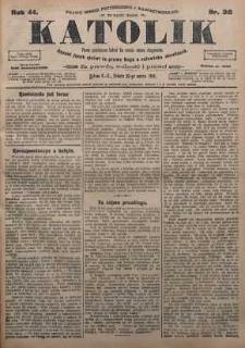 Katolik, 1911, R. 44, nr 36