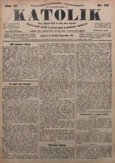 Katolik, 1911, R. 44, nr 38