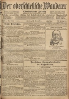 Der Oberschlesische Wanderer, 1908, Jg. 81, Nr. 264
