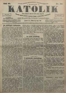 Katolik, 1911, R. 44, nr 54