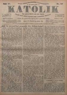 Katolik, 1911, R. 44, nr 67