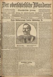 Der Oberschlesische Wanderer, 1910, Jg. 83, Nr. 20