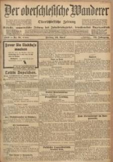 Der Oberschlesische Wanderer, 1910, Jg. 83, Nr. 91