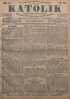 Katolik, 1911, R. 44, nr 84