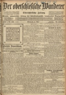 Der Oberschlesische Wanderer, 1910, Jg. 83, Nr. 106