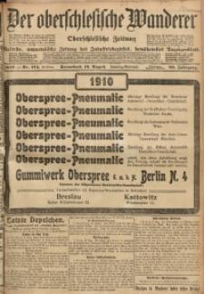 Der Oberschlesische Wanderer, 1910, Jg. 83, Nr. 184