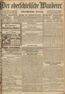 Der Oberschlesische Wanderer, 1910, Jg. 83, Nr. 214