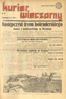 Kurier Wieczorny, 1937, nr 11