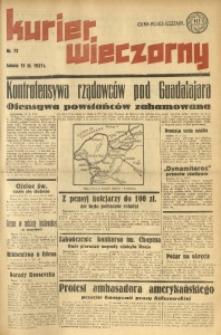 Kurier Wieczorny, 1937, nr 72