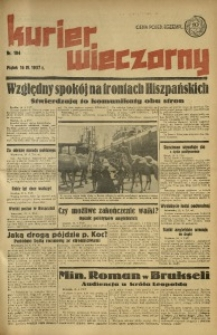 Kurier Wieczorny, 1937, nr 104