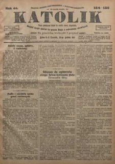 Katolik, 1911, R. 44, nr 154/155
