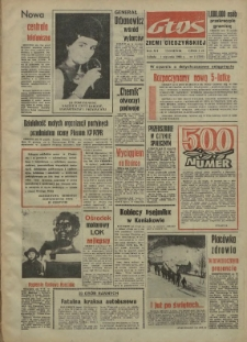 Głos Ziemi Cieszyńskiej, 1966, Nry 1-52