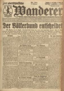 Der Oberschlesische Wanderer, 1921, Jg. 94, Nr. 184