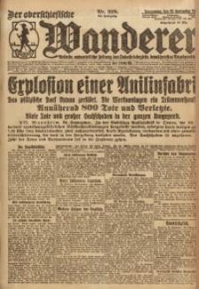 Der Oberschlesische Wanderer, 1921, Jg. 94, Nr. 218
