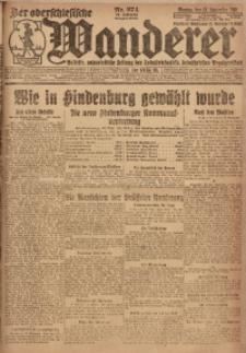 Der Oberschlesische Wanderer, 1922, Jg. 94, Nr. 274